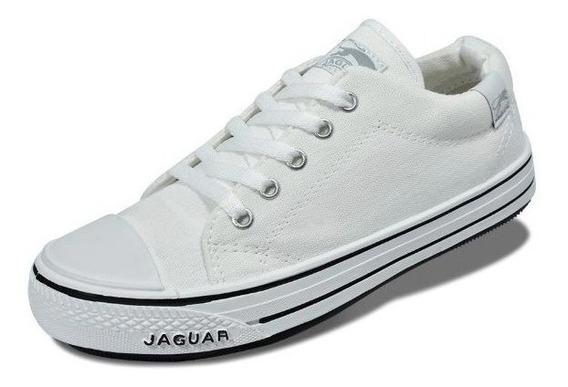 Zapatillas Mujer Hombre Niños Jaguar 320 Clasica Lona 35/45