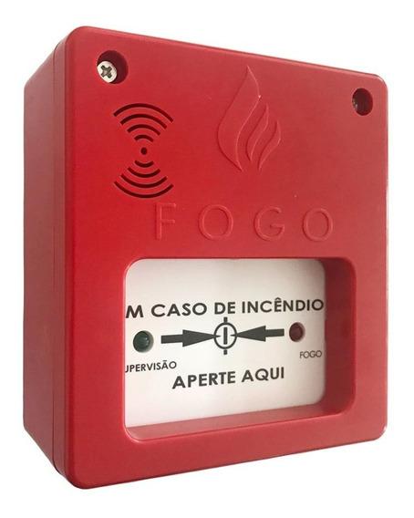 Acionador Botoeira Manual C/ Sirene Central Alarme Incêndio