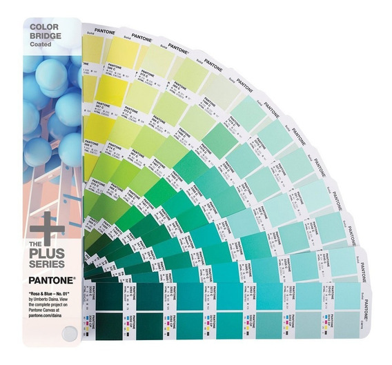 Muestrario Colores Solidos Bridge Coated Pantone Gg6103n