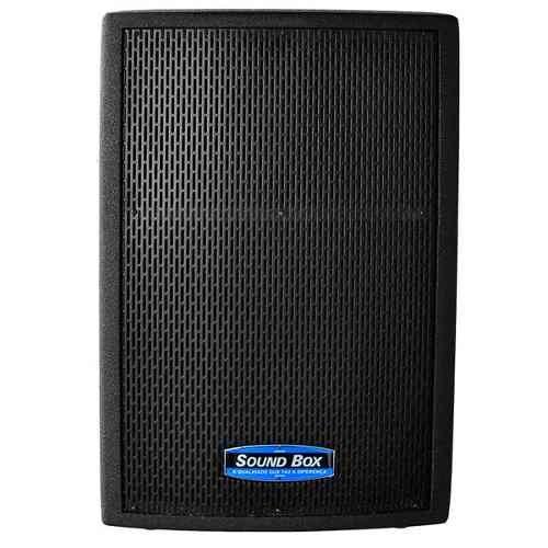 Caixa Ativa 600w Impact 12 Preta - Soundbox Imperdível