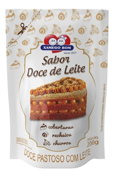 Doce Pastoso C/ Leite - Xamego Bom - Pouch 200gr