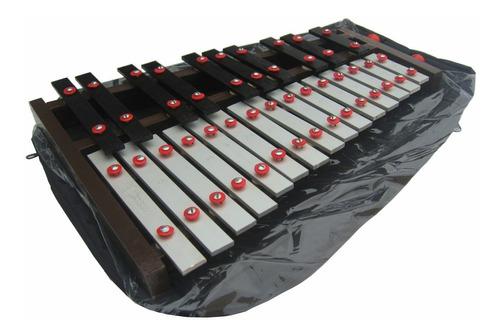 Xilófono Cromático Selecto 25 Notas Piano Afinado440 C/funda