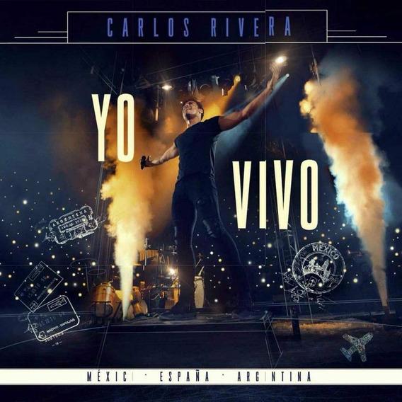 Carlos Rivera Yo Vivo Cd + Dvd Nuevo 2018 Original En Stock