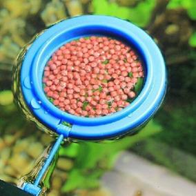 Comedouro Para Peixes Redondo Medida 7 Cm(alimentador)