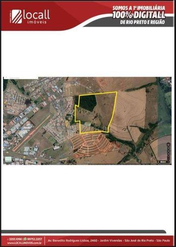 Área À Venda, 694 M² Por R$ 45.145.000,00 - Zona Rural - Mirassol/sp - Ar0036