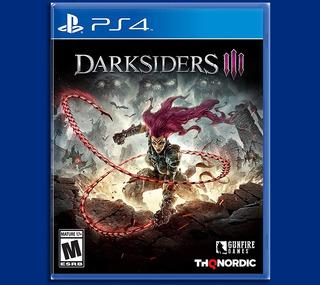Darksiders Iii Ps4 Español E. Lanzamiento Disponible