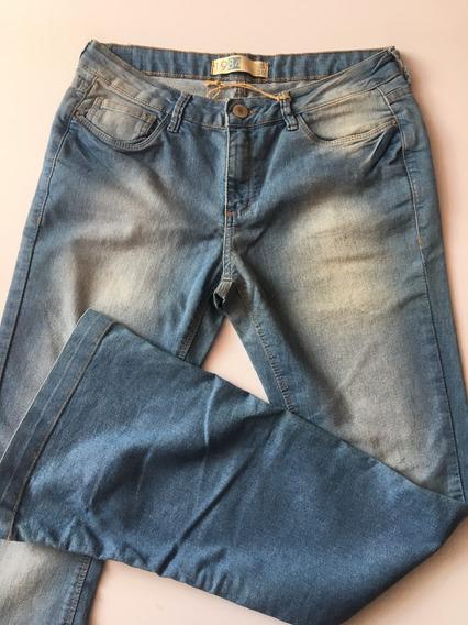 Calça Feminina Tng Jeans Flare Original Em Promoção