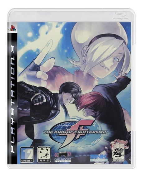 The King Of Fighters Xii Ps3 Mídia Física Pronta Entrega