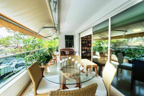 Maravilhoso Apartamento Alto Padrão 333 M² No Brooklin - 4 Suítes, 4 Vagas - Próximo Ao Colégio Vértice - Ap4643