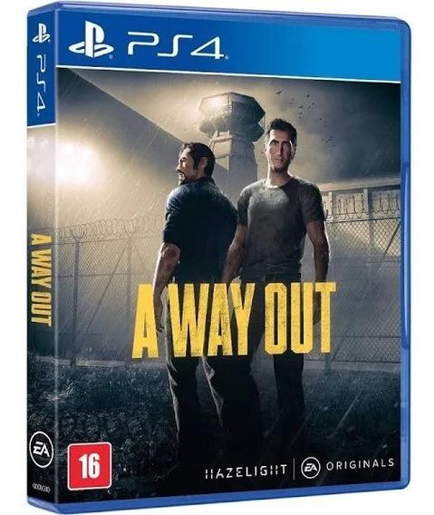A Way Out Ps4 Novo