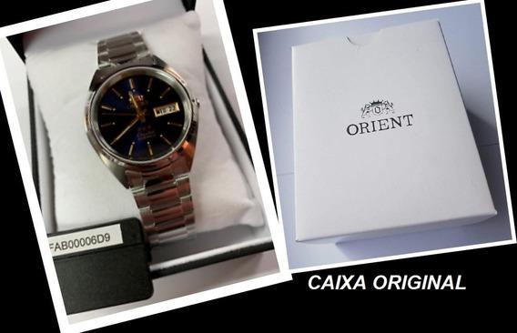 Relógio Automático Orient Fab00006d9 Original + Caixa 3 Star