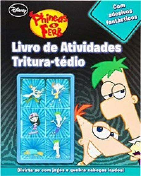 Livro De Atividades Tritura-tédio - Com Adesivos Fantástic