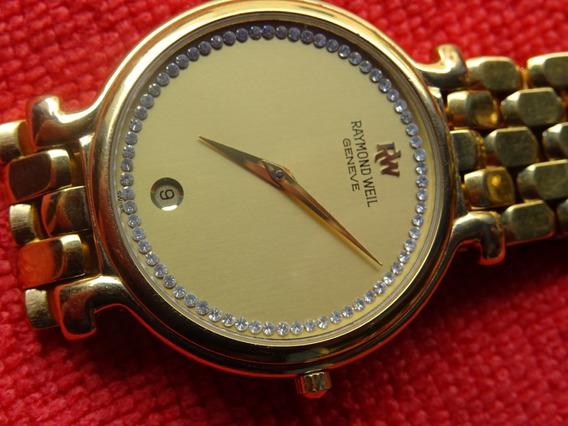 Raymond Weil 18k Gold Mod 9137-2 Electroplated