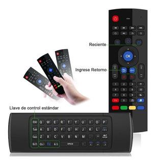 Teclado Air Mouse Inalambrico Giroscopio Tv Box Smart Tv Pc