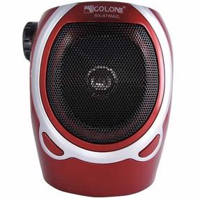 Mega Fone Com Rádio Fm Usb Sd Alto Falante De 3 Polegadas