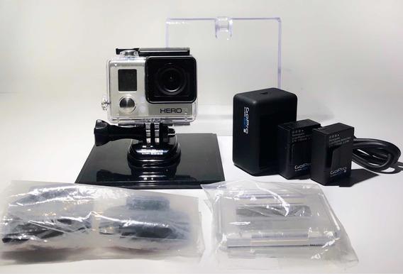 Câmera Gopro Hero Com Acessórios