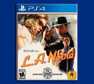 L.a. Noire Ps4 Disponible