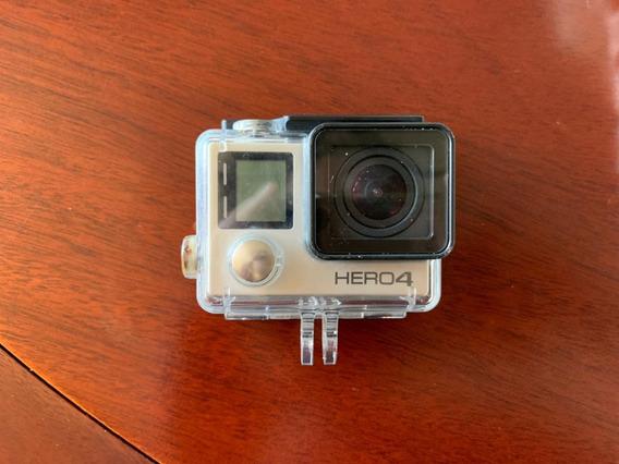 Câmera Digital Gopro Hero 4 Silver Com Acessórios E Mochila