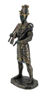 Dios Egipcio De Los Muertos Osiris Figura En Fina Resina