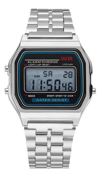 Relógio Digital Led Ultra-fino Relógio Masculino E Feminino