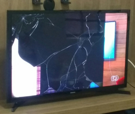 Smart Tv Sansung 32 (tela Quebrada)