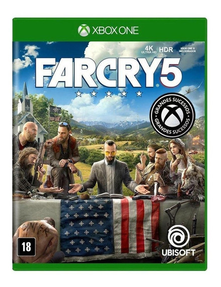 Far Cry 5 Para Xbox One - Mídia Física