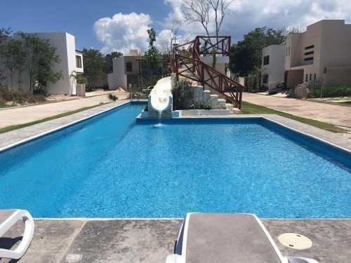 Hermosa Casa En Venta De 2 Habitaciones Fraccionamiento Bambú Con Lock Off Playa Del Carmen P3040
