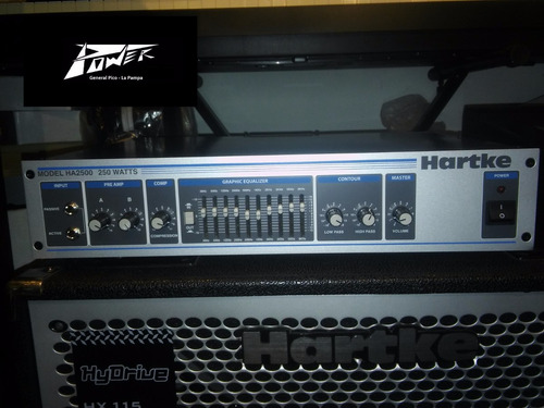 Hartke Ha2500 Cabezal Bajo 250w Tm