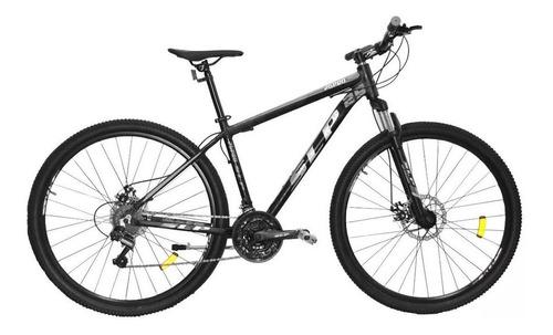 """Mountain bike SLP 25 Pro R29 20"""" 21v frenos de disco mecánico cambios Shimano Tourney TZ31 y Shimano Tourney TZ500 color negro/gris"""