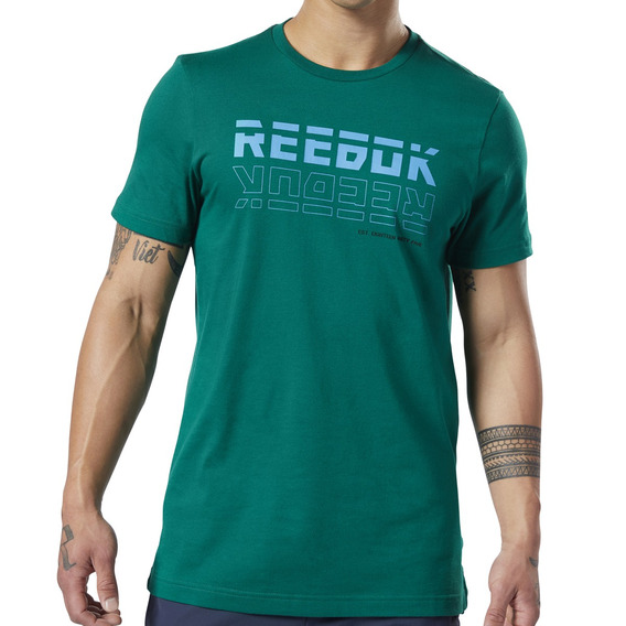 Remera Reebok Training Meet You There Hombre Vd