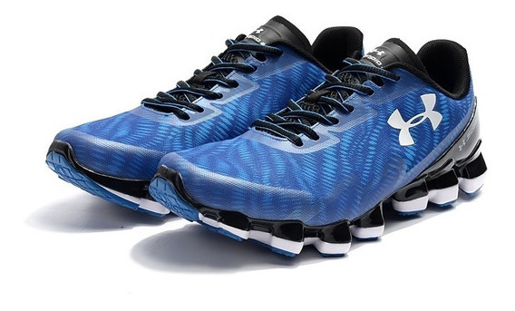 Tenis Under Armour Scorpio 2 Colores Withe/blue Inm!!!