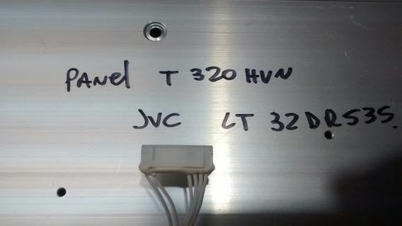 Leds Panel T320hvn De Jvc Lt32dr535