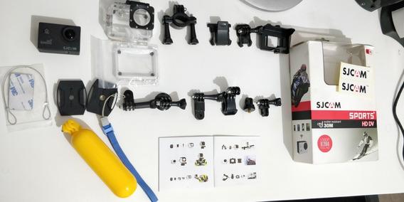 Câmera Filmadora Original Sjcam Sj4000 Hd Prova D Água 1080p
