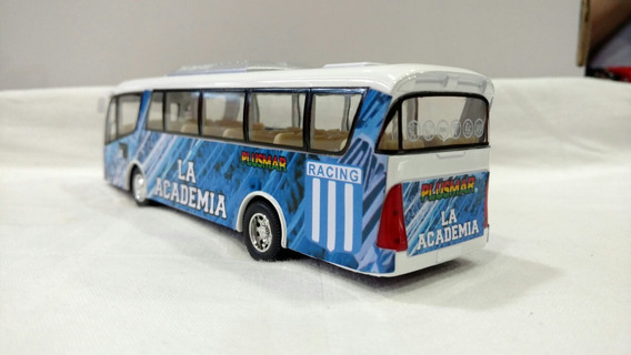 Micro Colectivo Bus Racing Club Metal 19cm