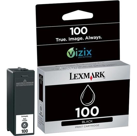 Cartucho De Tinta Lexmark 100 Negro Original Sellado