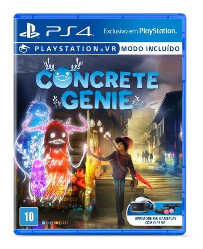 Imagem 1 de 3 de Jogo Concrete Genie - Ps4