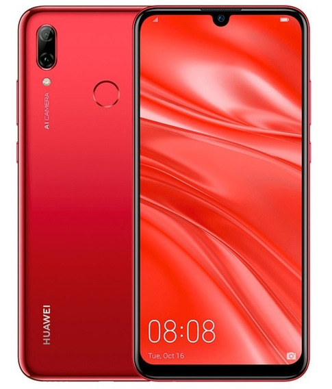 Celular Huawei Lte Pot-lx3 P Smart 2019 Rojo
