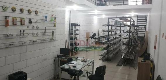 Galpão Para Alugar, 140 M² Por R$ 2.500,00/mês - Jardim Das Indústrias - São José Dos Campos/sp - Ga0169