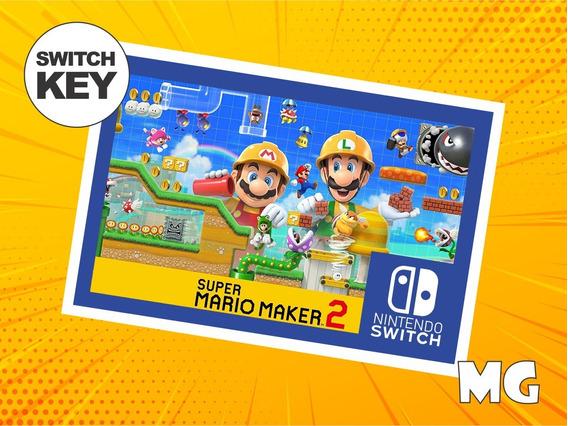 Super Mario Maker 2 - Jogo Nintendo Switch Digital