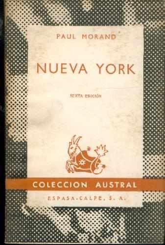 Nueva York. Paul Morand