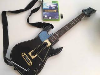 Guitar Hero Live Xbox 360 Rock Band Guitarra + Juego