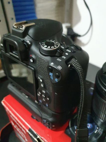 Canon T6i + Lentes + Grip + 2 Baterias