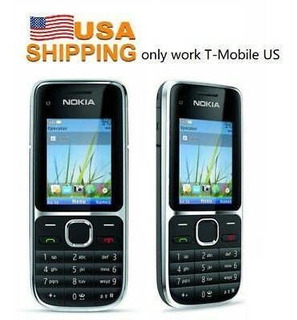 ¡stock De Usa! Nokia C2-01 Rm-721 Negro 3.2mp (t-mobile-1296