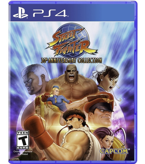 Street Fighter 30th Anniversary Collection - Ps4 Lacrado