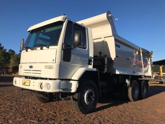Ford Cargo 6332 6x4 Basculante Meia Cana