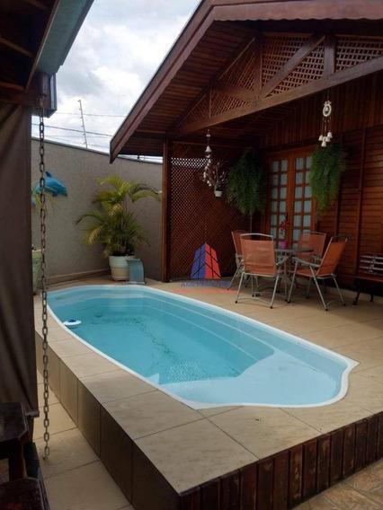 Casa Com 2 Dormitórios À Venda, 210 M² Por R$ 450.000,00 - Parque Residencial Jaguari - Americana/sp - Ca1031