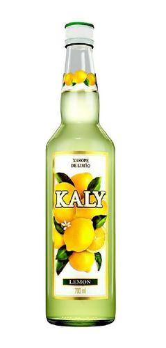 Imagem 1 de 3 de Xarope De Limão Kaly 700ml
