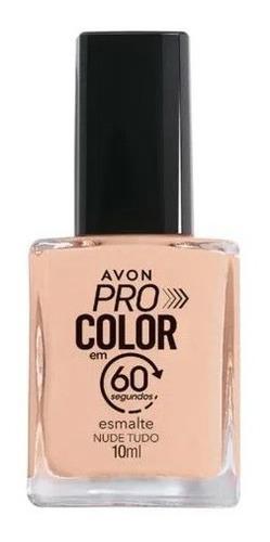Imagem 1 de 1 de Avon - Pro Color 60 Segundos - Esmalte - Nude Tudo