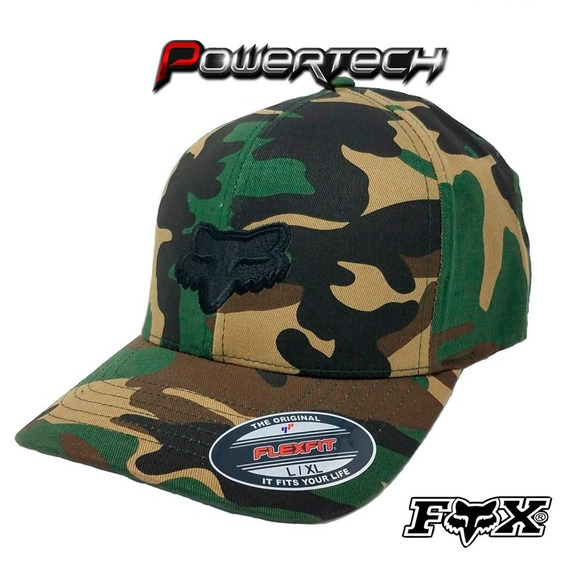 Gorra Fox Racing Legacy Flexfit Camo