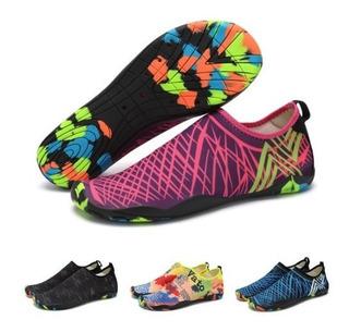 Aqua Shoes Zapatillas Acuaticas Playa Surf Canotaje Yoga
